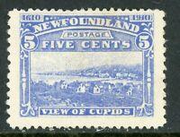 Canada 1910 Newfoundland 5¢ Cupids Perf 14x 12 Scott #91a Mint Z907