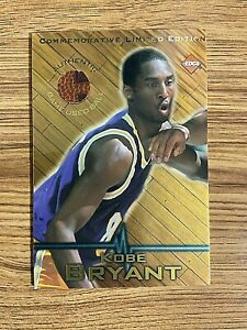 1998 Commemorative COLLECTOR EDGE GAME-USED BALL Jumbo Size  Kobe Bryant