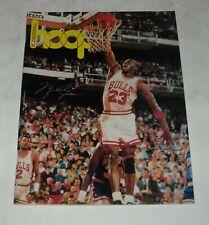 1989 - 1990 BOSTON CELTICS OFFICIAL NBA PROGRAM MAGAZINE MICHAEL JORDAN COVER