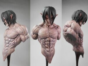 Resin Figure Kit Attack on Titan Eren Unpainted Garage Resin Kit