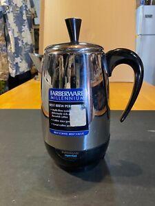 FARBERWARE MILLENIUM ELECTRIC COFFEE 2 TO 8 CUP PERCOLATOR MODEL FCP - 230