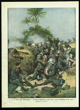 1911 Italian Soldiers in Libya, Non-Stop Shooting and Fighting - A.Belltrame