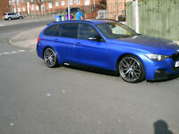 BMW 320D M Sport Touring 330d/335d rep estate pretty well spec'd too !!