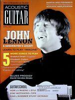 Acoustic Guitar Magazine April 2005 John Lennon Songwriter's Legacy m618