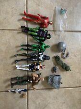 Marvel Legends Lot! 6 Figures; Ironman, Spider-Man, X-men! W BAF