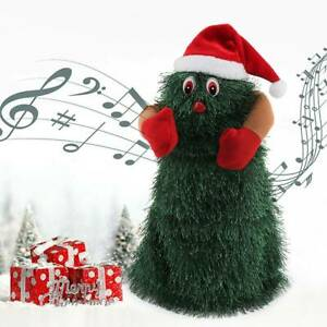 Singender Musik Tanzender Weihnachtsbaum Weihnachten Figure Puppe Toys 27cmx11cm