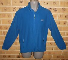 035 New Trespass Simlax Full Zip Fleece Jacket Blue Mens Small Shop Quality