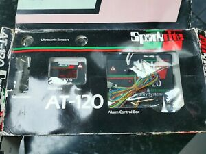Sparkrite At120 classic Car Security Alarm System Rare 1980 Infra Red Ultrasonic