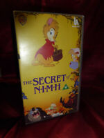 1988 OOP THE SECRET OF NIMH VHS 79 mins Children's Animated Film FREE UK P&P