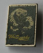 WHITESNAKE Original VTG 70/80`s Metal Pin Badge (not patch lp shirt) R083