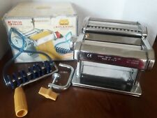Marcato Atlas Pasta Machine, Stainless Steel, Silver Atlas 150 Made in Italy