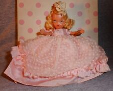 Vintage Cinderella Went To The Ball Bisque Nancy Ann Storybook Doll #155 w/box