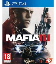 Sony Play Station mafia III PS4 garantizado