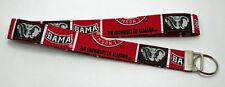 Alabama University Bama Lanyard Key Chain Ring Handmade Custom Designer