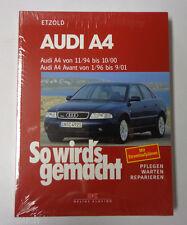 Reparaturanleitung So wird's gemacht Audi A4 / A4 Avant von 1994 bis 2001