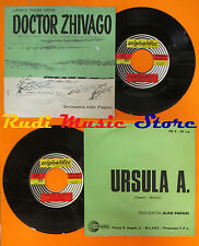 LP 45 7'' ALDO PAGANI Doctor zhivago Ursula a 1966 italy LARA'S THEME cd mc dvd