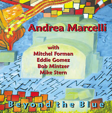 ANDREA MARCELLI - BEYOND THE BLUE - 2005 CD - MIKE STERN - ART OF LIFE RECORDS
