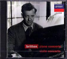 Sviatoslav Richter & Mark Lubotsky: Britten pianoforte & Violin Concerto CD ECO NUOVO