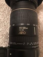 Sigma APO Aspherical RF 170-500mm f/5-6.3 APO DG RF AF ASP Lens