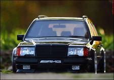 1:18 Tuning Mercedes-Benz S124 300TE AMG - schwarz - Bj.1988 + Alufelgen