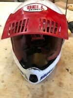 Bell Vintage Moto 5 Motocross Dirt Bike Motorcycle Helmet 7 1/4