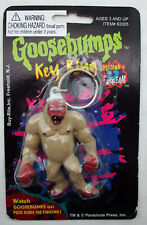 Goosebumps Key Ring - Abominable Snowman - vintage old stock