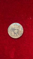 1826 S DUTCH EAST INDIES VOC 1/2 STUIVER UTRECHT MINT TREASURE SPICE TRADE COIN