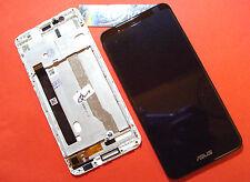 DISPLAY LCD+TOUCH SCREEN +FRAME ORIGINALE ASUS ZENFONE 3 MAX ZC520TL X008D NERO