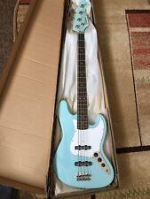 NEW Tokai Jazz Sound J type bass in Sky Blue Electric Bass Guitar in Gigbag