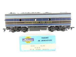 HO Scale Athearn 3020 B&O Baltimore & Ohio F7-B Diesel Locomotive - DUMMY