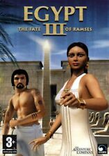 EGYPT III: The Fate of Ramses (PC-CD, 2004) for Windows 98-XP - NEW in DVD BOX