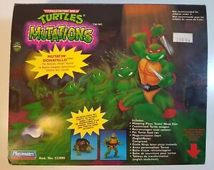 Unopened Playmates TMNT Mutations - Mutatin' Donatello (1992) Canadian Box