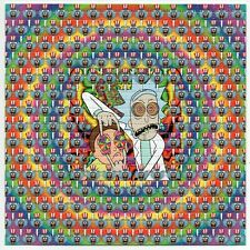 R & M Tripping Balls BLOTTER ART perforated sheet paper psychedelic art
