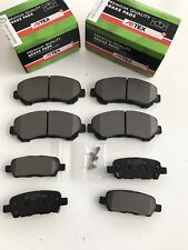 FRONT AND REAR BRAKE DISC PADS FITS NISSAN QASHQAI 1.5 Dci 1.6 2.0 2007 - 2011