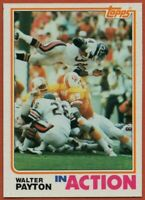 1982 Topps #303 Walter Payton EX-EXMINT+ Chicago Bears FREE SHIPPING