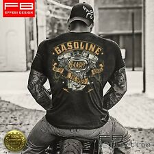 T-Shirt Maglietta Respect For Bikers Harley Davidson Gasoline V-Twin Custom