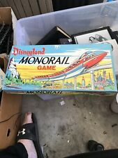 DISNEYLAND MONORAIL GAME / PARKER BROTHERS-1960