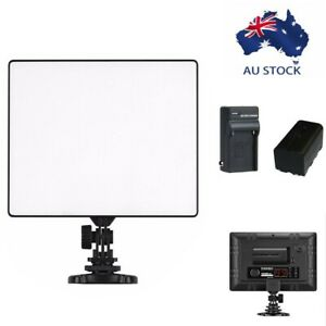 YONGNUO YN300 Air LED Video Camera Light for DSLR Camcorder +Battery Charger Kit