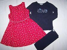 collection récente ensemble robe SERGENT MAJOR tee shirt + legging OKAIDI  6 ans