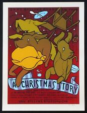 A CHRISTMAS STORY JAY RYAN SIGNED LIMITED SILKSCREEN MONDO 2007