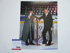 DON CHERRY RON MACLEAN SIGNED 11X14 PHOTO PSA/DNA COA AC51859 HNIC HOCKEY NIGHT
