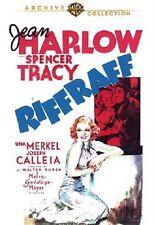 RIFFRAFF  (Jean Harlow, Spencer Tracy) -  Region Free DVD - Sealed