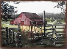 Old Barn Wall Clock  Makes Great Gifts