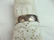 Fashion Silver Tone vintage cuff sun carved Bracelet