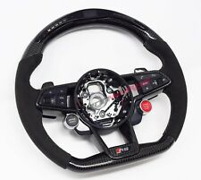 Audi TT TTRS 8S MK3 LED Carbon Fibre Steering Wheel - Customisable Options 2014+