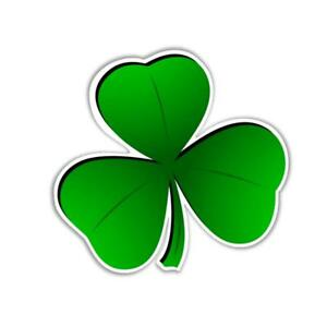 Shamrock sticker b Irish pride symbol of Ireland 93 x 88 mm vinyl stickers 3.7""