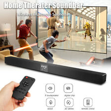 60W Home Theater Soundbar Plus Speaker Remote Wireless bluetooth Sound Bar