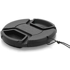 72mm Tapa Cap para Lente Frontal de Cámara y Cordon para Canon Sony Nikon