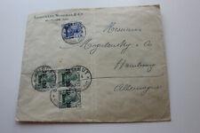 Brief,gel.1911 aus Beyrouth,Syrien nach Hamburg
