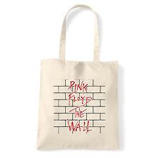 Art T-shirt, Borsa  Pink Floyd The Wall, Natural, Shopper, Mare